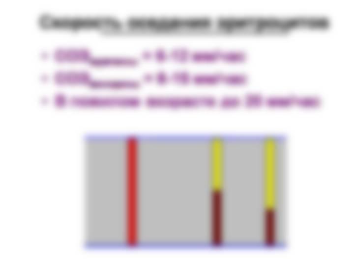 Общий анализ крови у беременных норма соэ в крови у