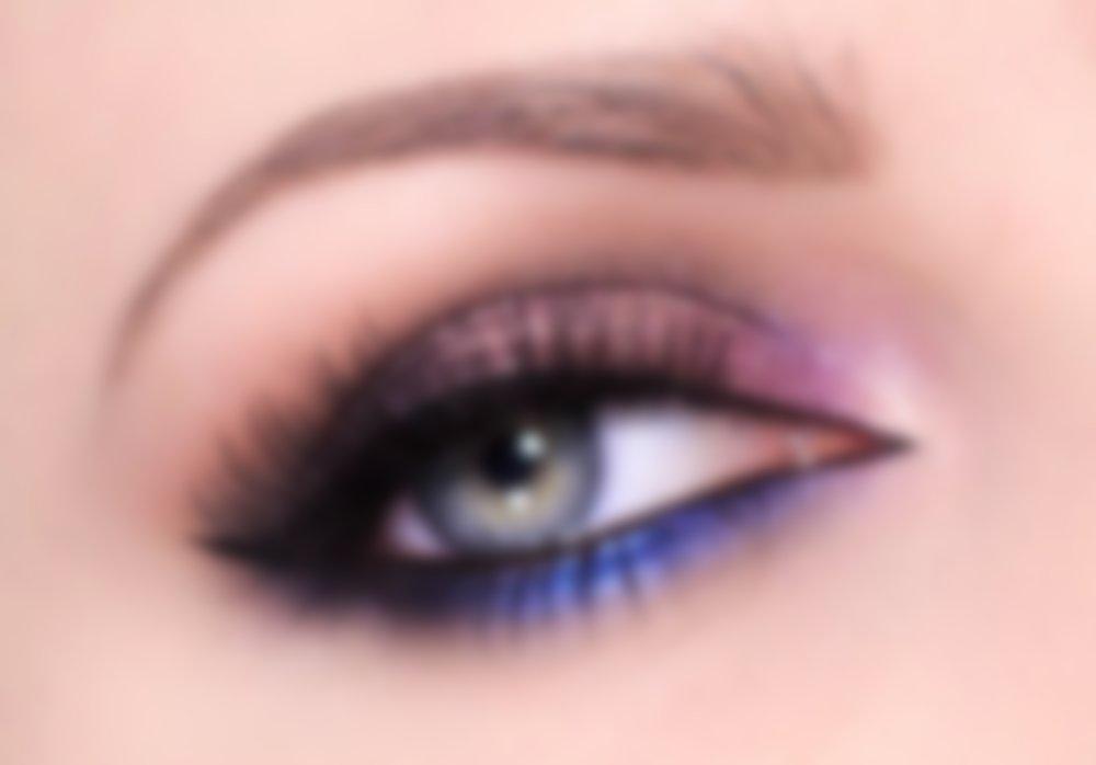 Макияж на выпускной голубые глаза и платье