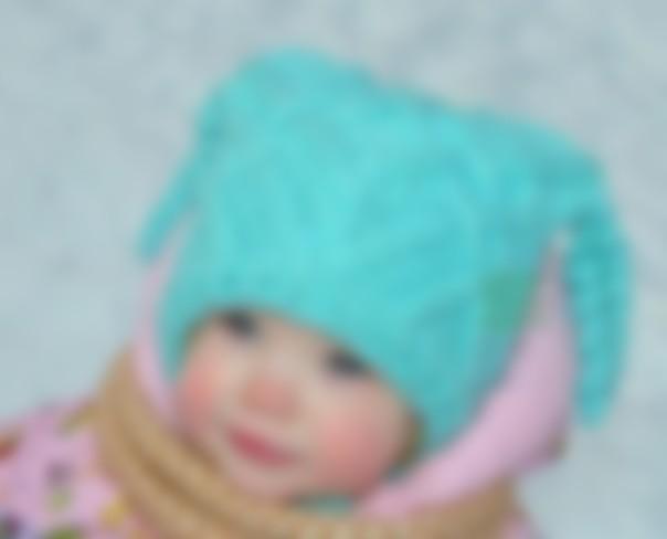 Шапочка на ребенка 1 год