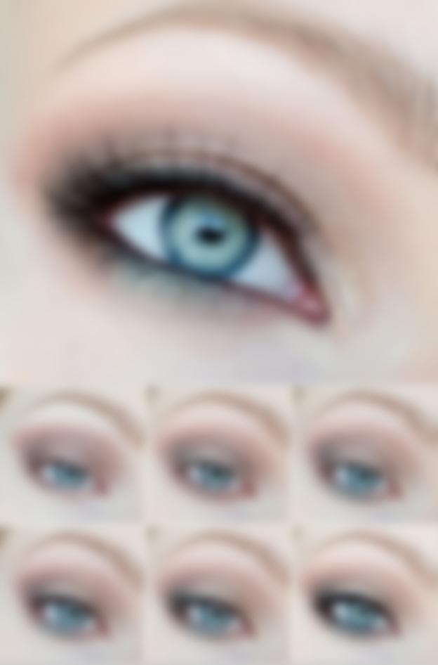 Макияж на выпускной голубые глаза и платье thumbnail