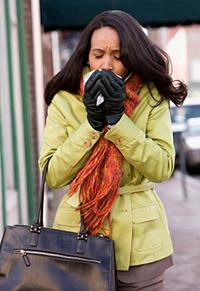 Как быстро справиться с простудой