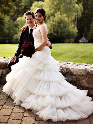 Америка Феррера вышла замуж