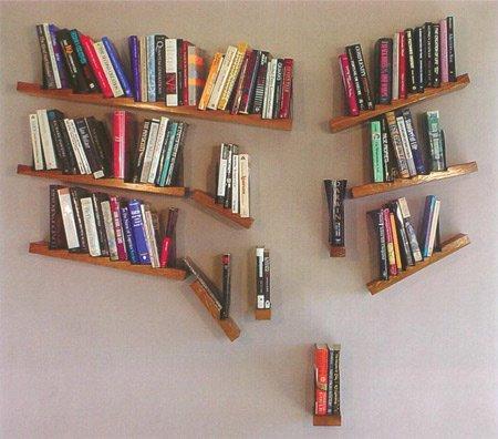 якобы Падающие книжные полки