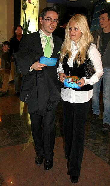 Тимур Родригез с женой Реввы. Премьеры мультфильмов. Туся