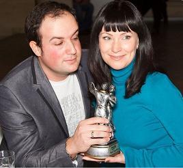 Алексей Нестеров и Нонна Гришаева