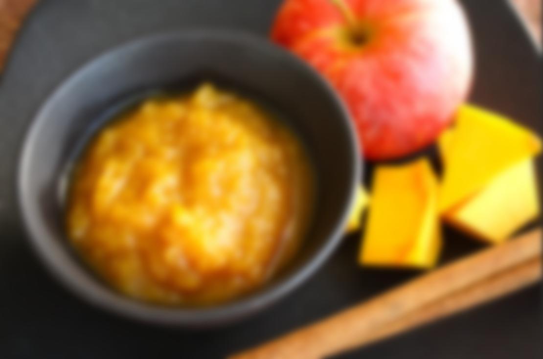 Пюре из яблок и тыквы при похудении
