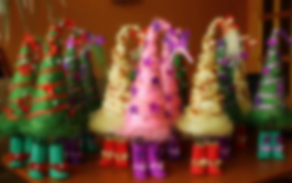 """Создаем новогодние украшения из подручных материалов"""""""
