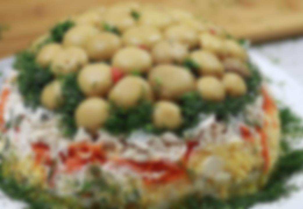 подборка картинок рецепт салата грибы под снегом с фото чёлка для многих