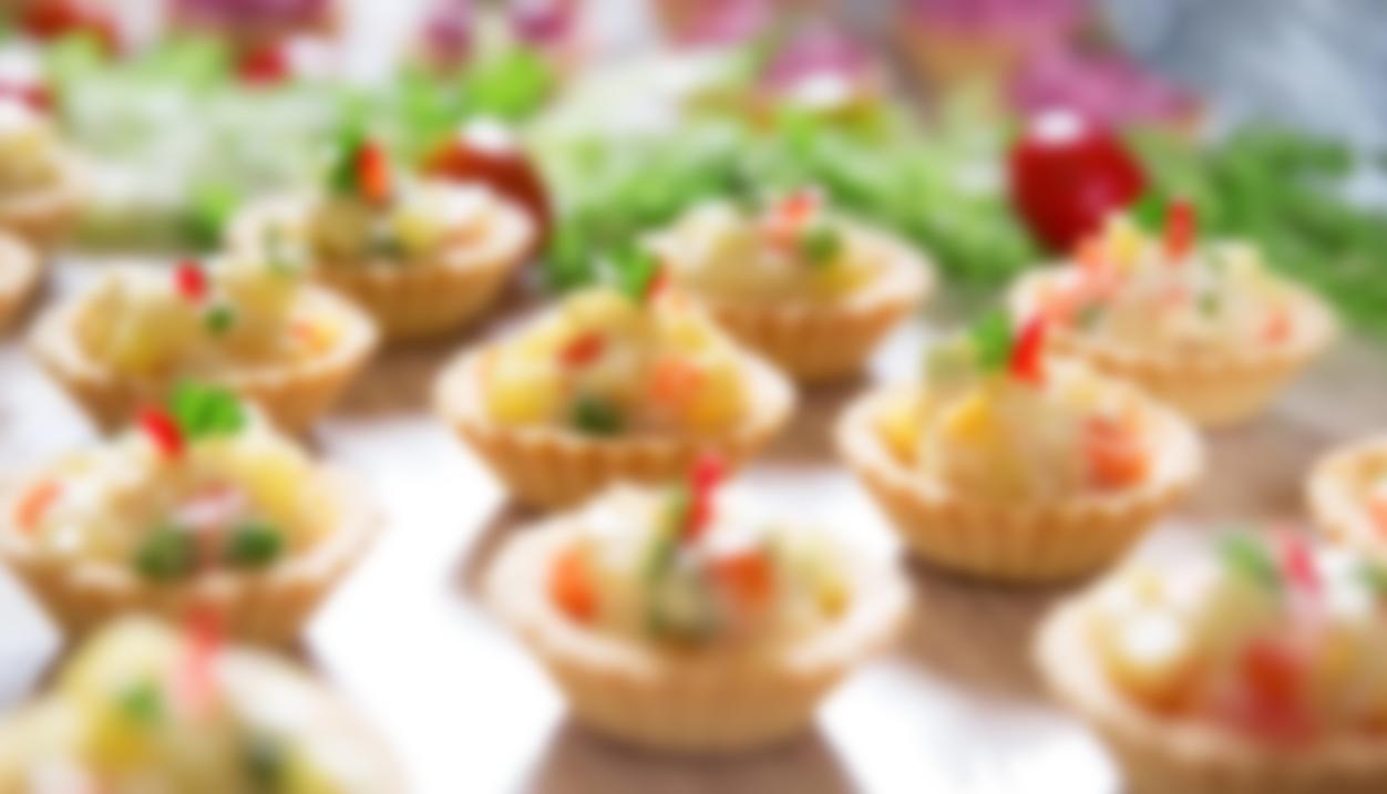 Праздничные закуски в тарталетках рецепты с фото