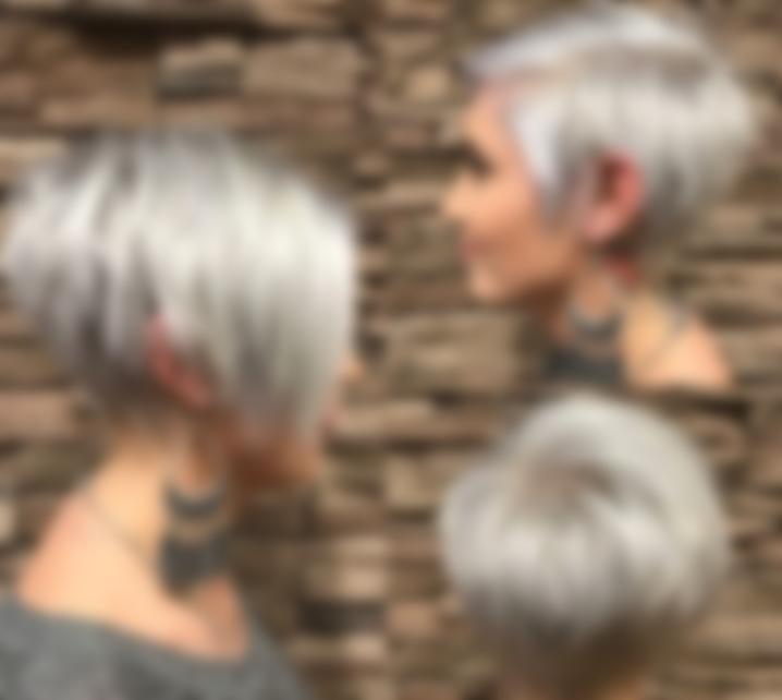 Креативные стрижки на короткие волосы асимметрия
