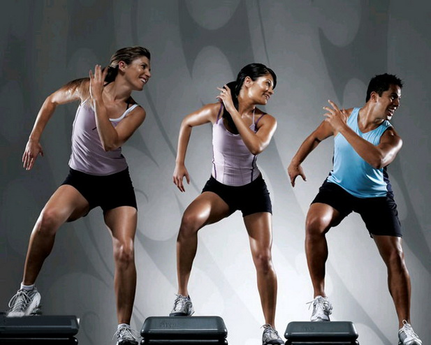 упражнения в зале для сжигания жира