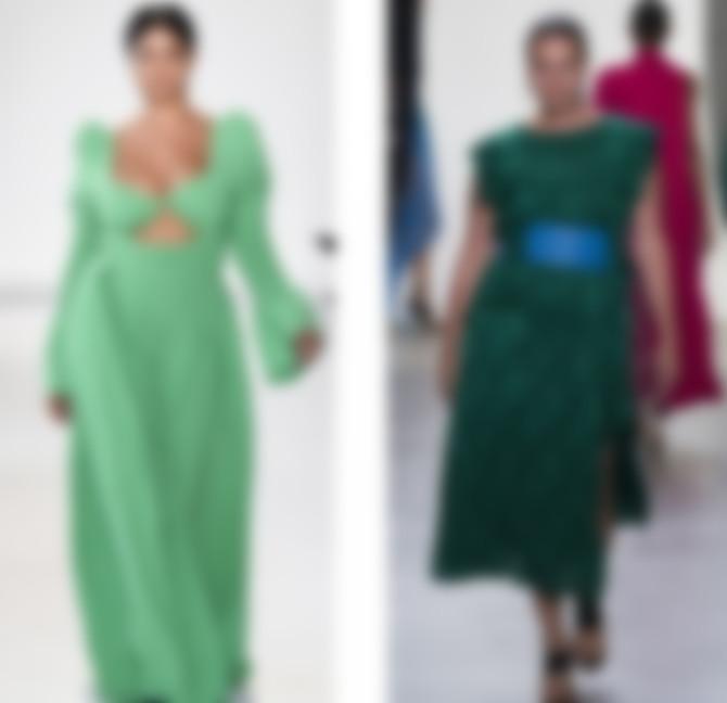 4177beb36e3 Длинное платье может быть красивым и привлекательным для женщин с лишним  весом. Дизайнеры предлагают разнообразные модели