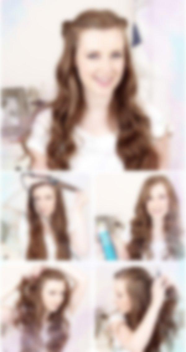 Красивые причёски на 1 сентября на средние волосы в 9 класс