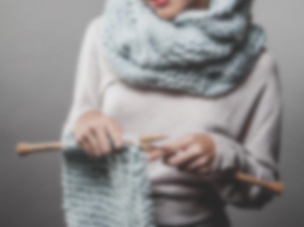как связать снуд хомут круговой шарф спицами схема вязания для