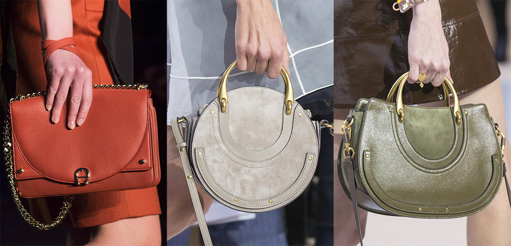 64f26f5fa063 Не стоит забывать классическое правило сочетания яркого цвета и формы сумки  - простой фасон в сочетании с наличием минимального декора.