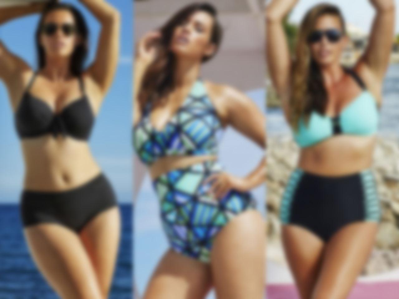 10e7d3219e049 Модели купальников для полных женщин, кому за 40 лет, внешне идентичны тем,  которые подойдут только стройным. Дело в том, что для моделей plus size ...