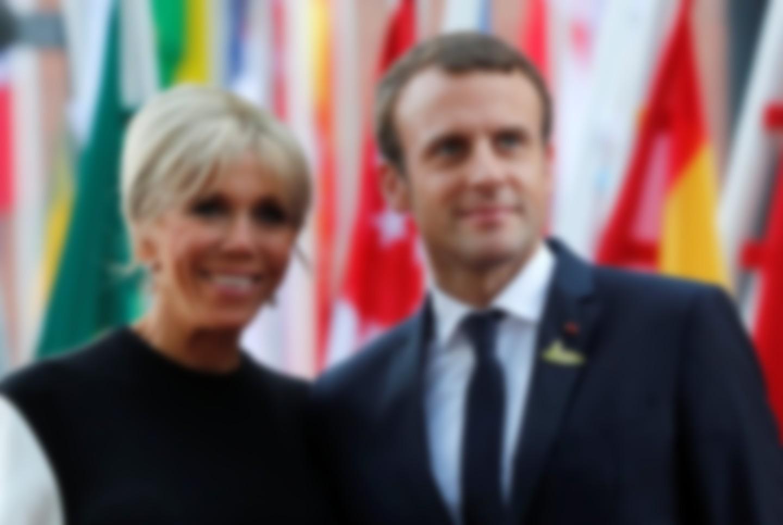 Жена Президента Франции Макрона: биография, фото картинки