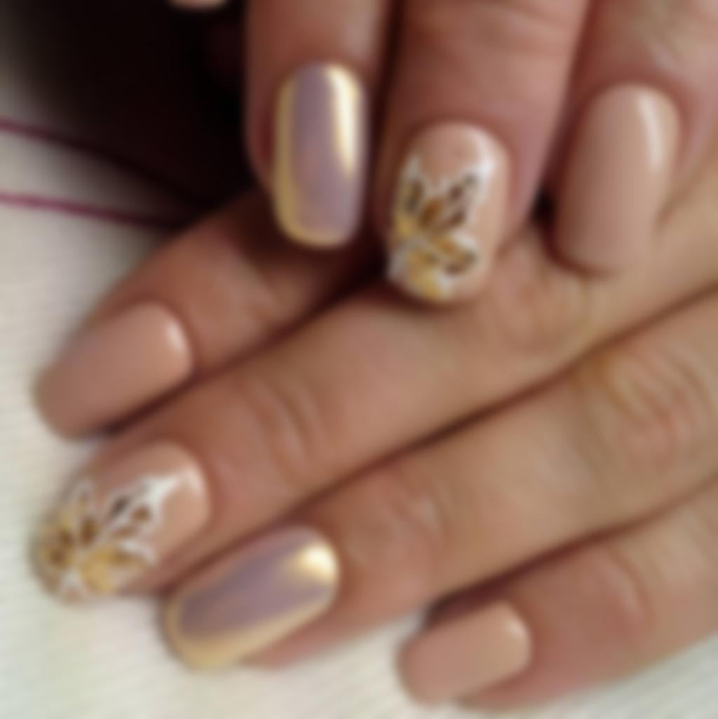 Модные Ногти Шеллак Фото