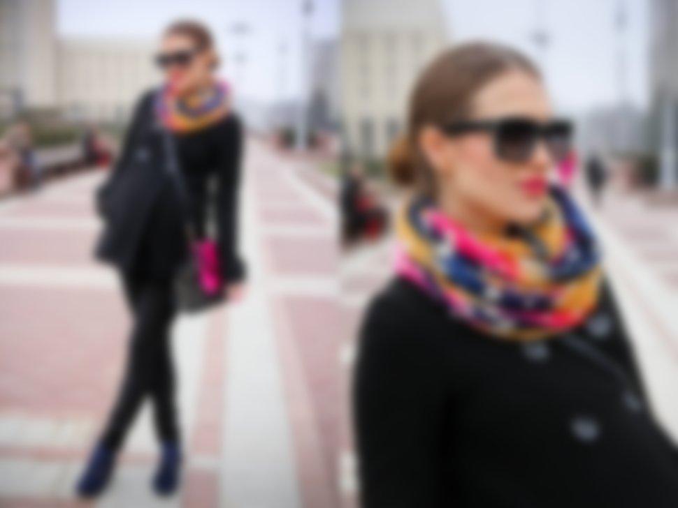 вашему вниманию как носить шарф на куртке фото нрав