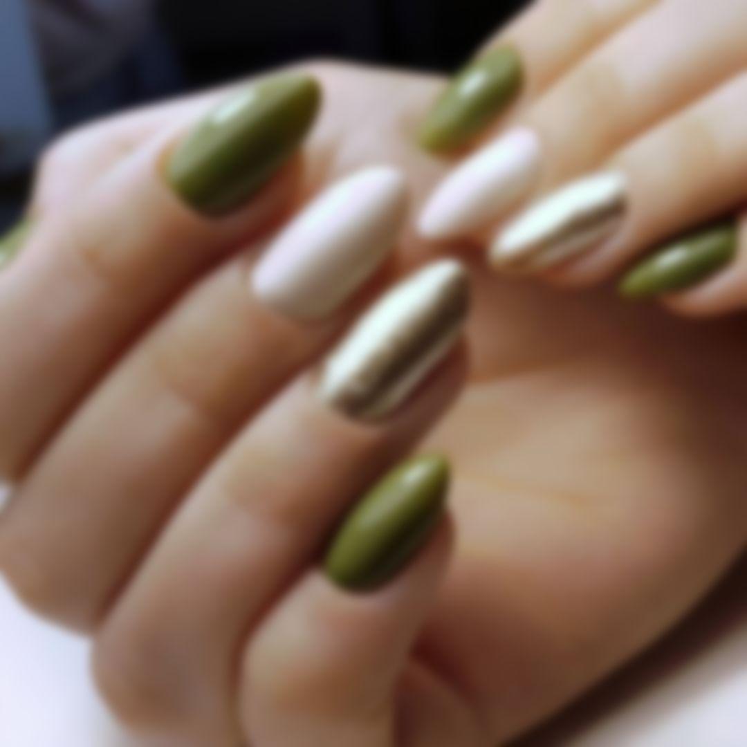 Маникюр осень 2021 - модные тенденции: фото, самый красивый дизайн ногтей