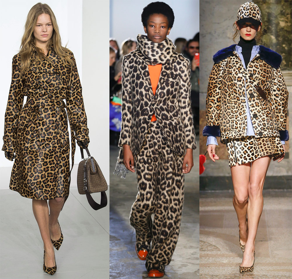 40bae2383f3 Дизайнеры смело используют этот принт в одежде не только на платьях