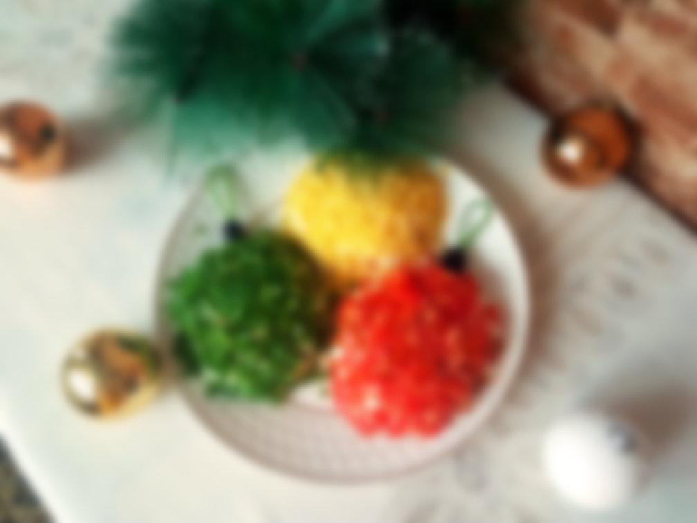 тех, кто салат новогодние шарики рецепты с фото рабочий процесс