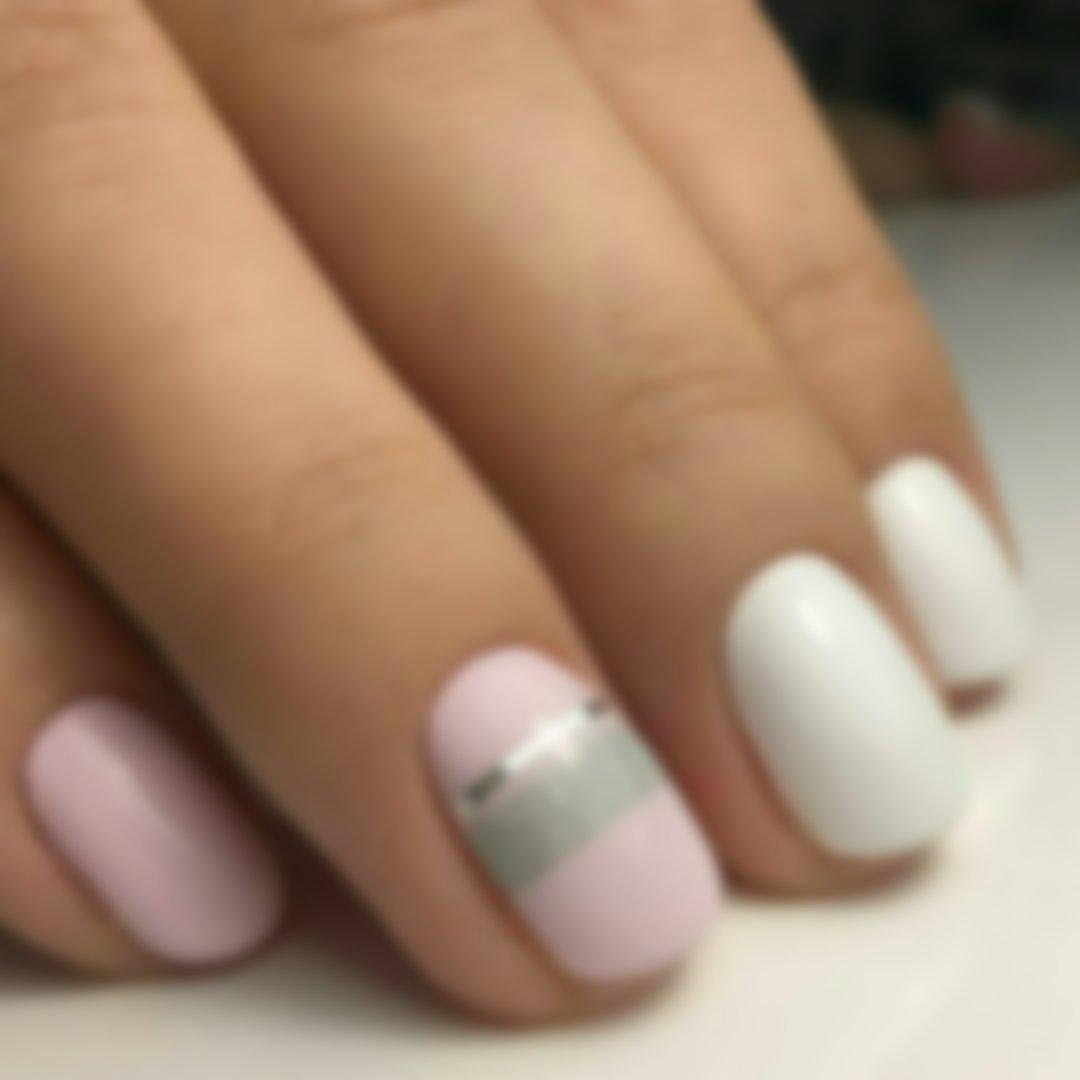 верхний дизайн коротких ногтей весна 25