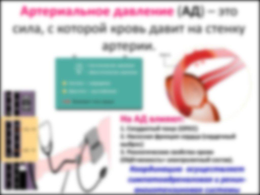 Таблица артериального давления по возрасту и пульс