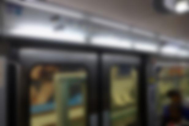 Схема метро с лампочкой и