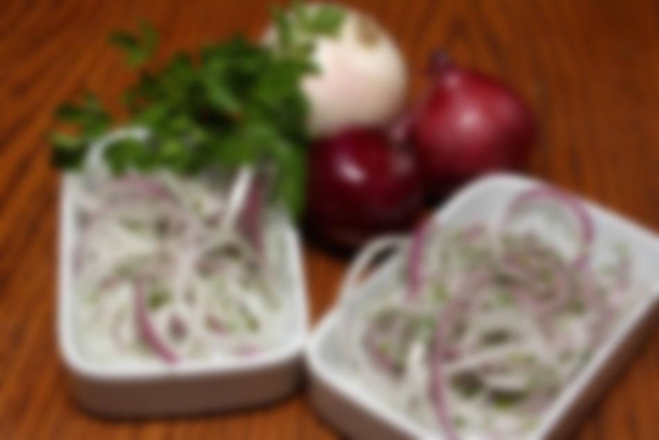 Лук мариновать с уксусом на салат
