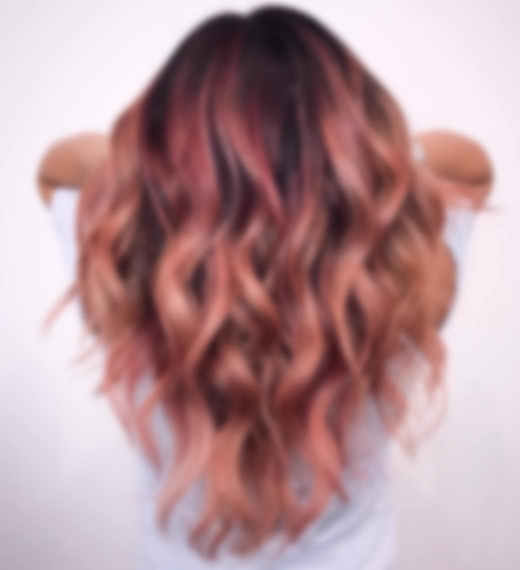 как красиво покрасить волосы фото