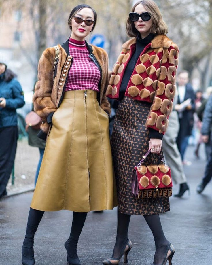 Модный лук осень зима 2019 2019