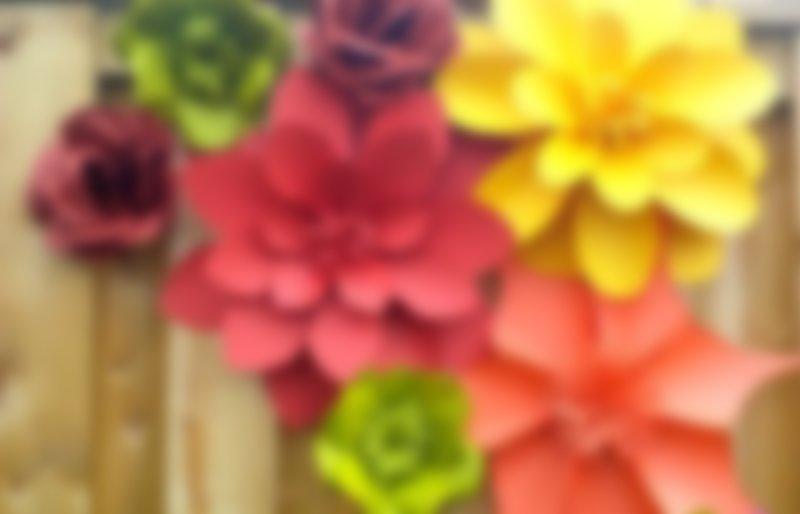 Как сделать цветок из бумаги для украшения фото 790