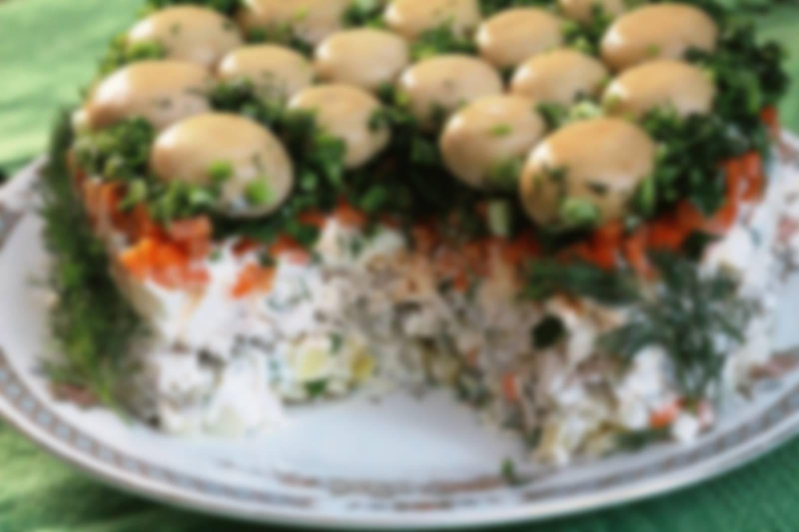 Самые вкусные салаты, простые рецепты приготовления