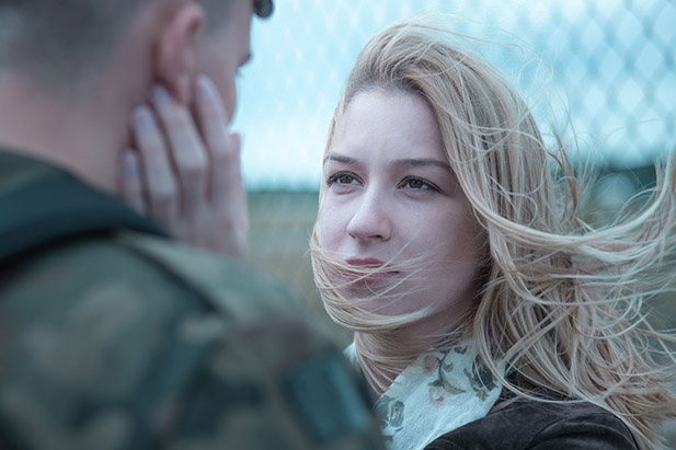 как я познакомилась с военным