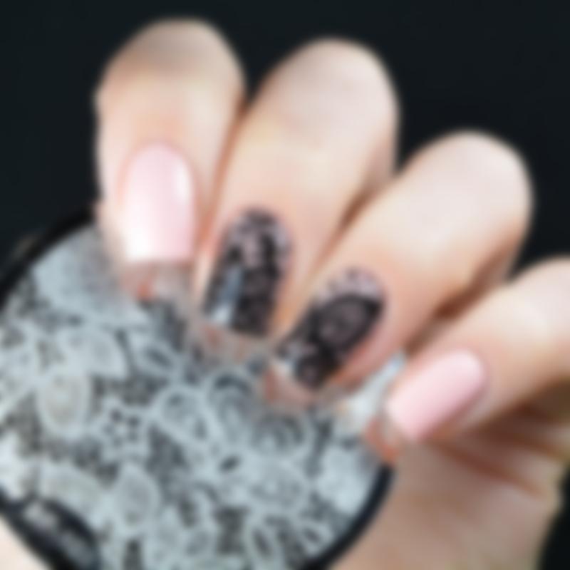 черно-белые дизайн ногтей френч кружево фото пошагово люди