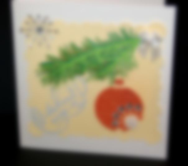 Картинках, новогодняя открытка шарик своими