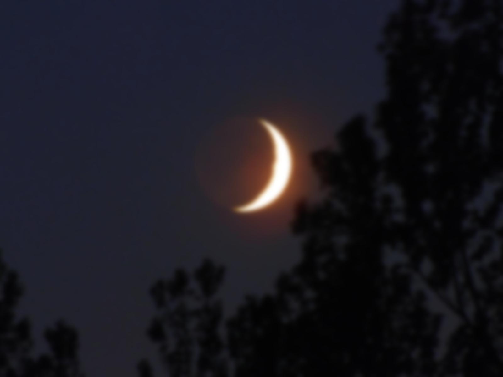 Картинки с растущей луной и звездами