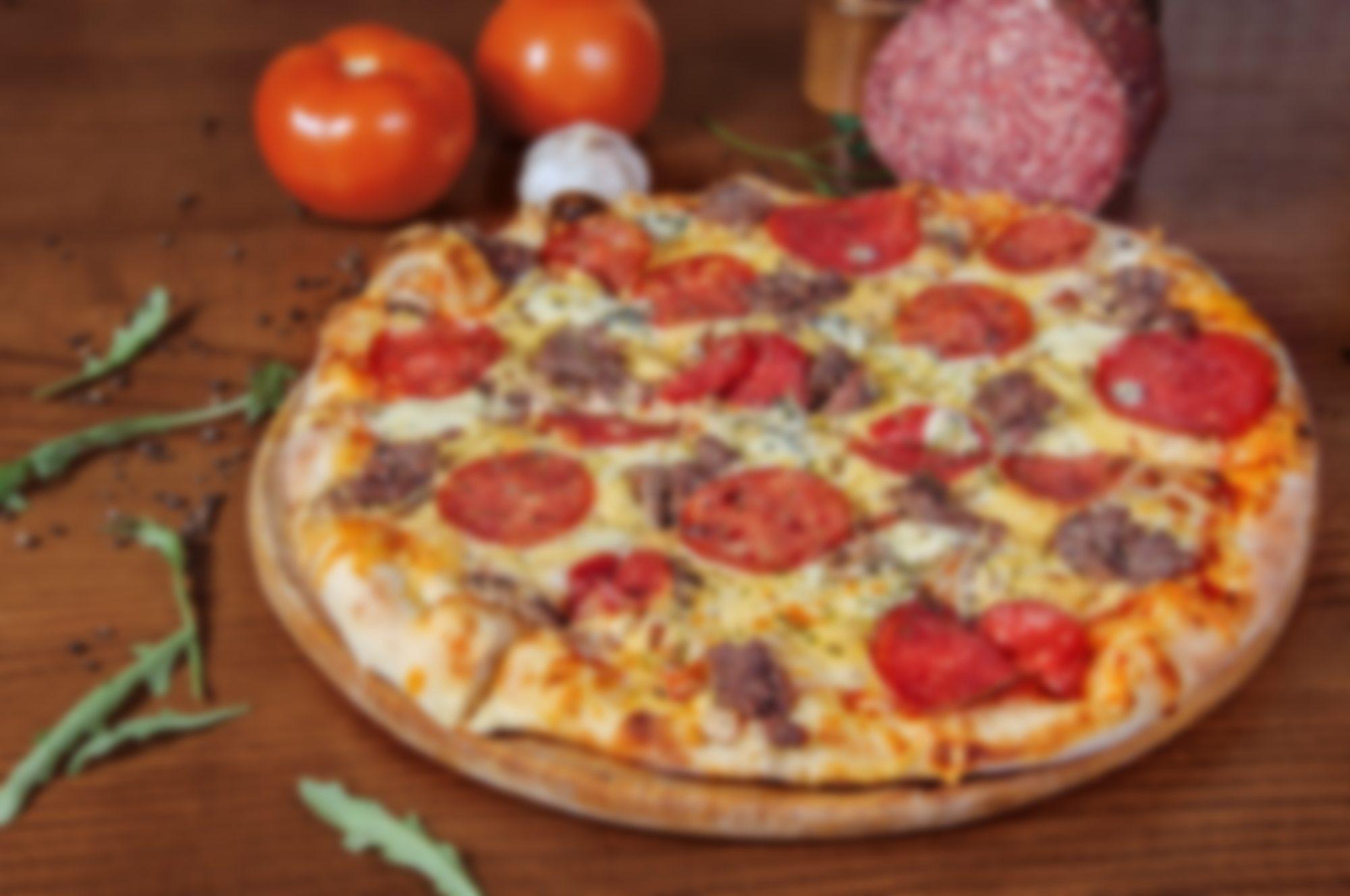 картинки пиццы салями все этом