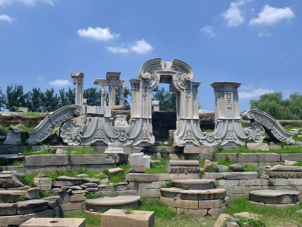 Руины Юаньминъюань