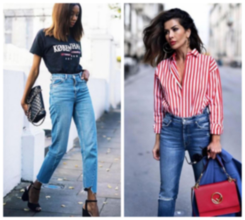 f622fb4987d Весной и летом на пике популярности будет джинсовая одежда с завышенной  талией
