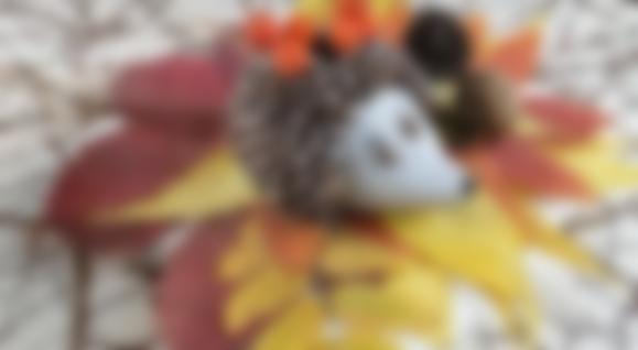 Поделки на тему осень в детский сад своими руками ...