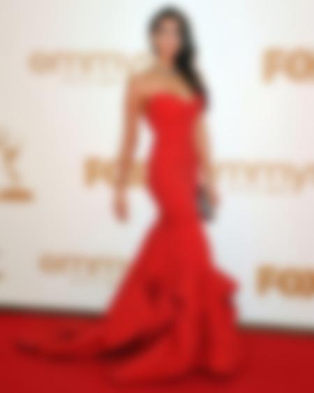 Самые яркие красные платья