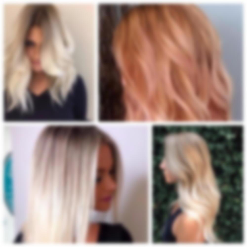 Модное окрашивание волос 2019 на средние волосы