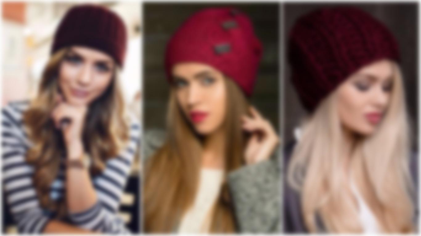 как связать шапку спицами для женщины новые модели 2018 2019 схемы