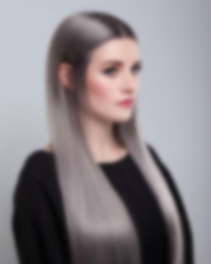 волосы серого цвета фото обои