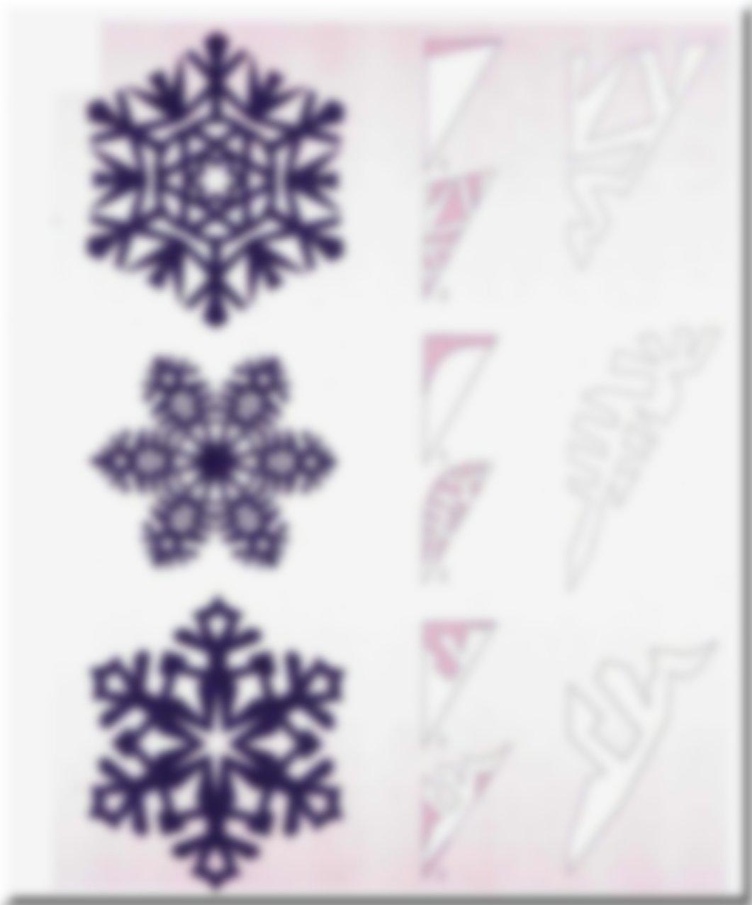 гниль ботритидиоз, вырезаем снежинки пошагово в картинках хороший