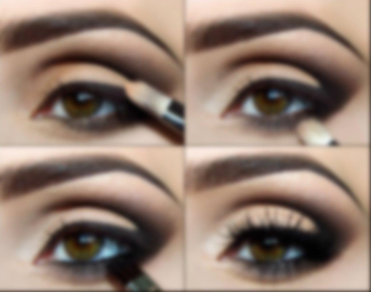 Вечерний макияж пошаговая инструкция с фото