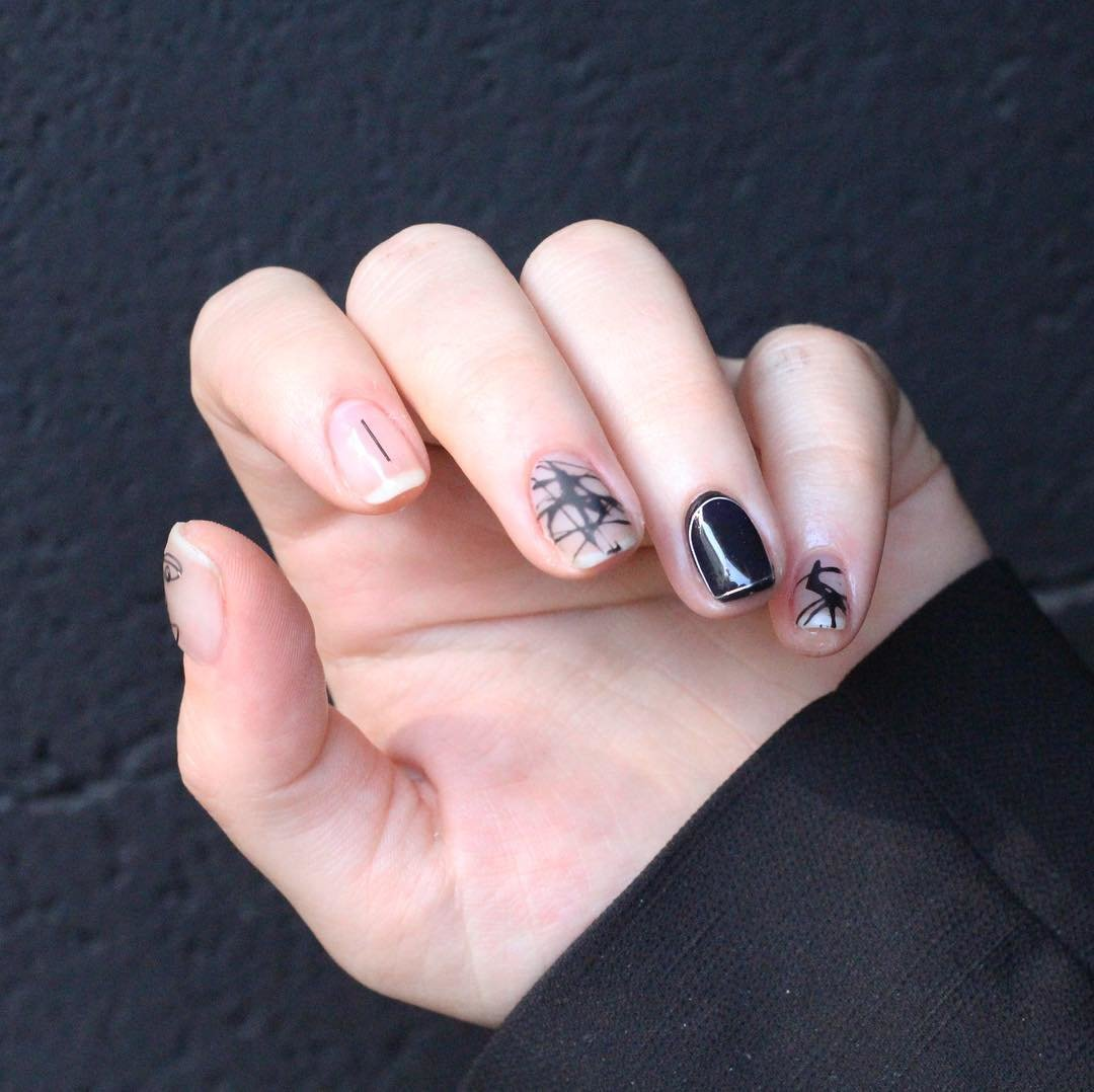 Дизайн ногтей 24 (фото) - новинки на короткие ногти