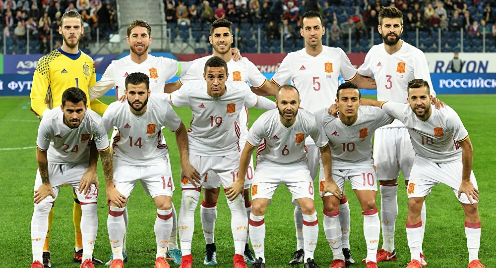 Биографии футболистов сборной испании